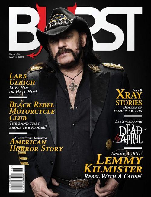 BURST Magazine Issue 15, March 2014