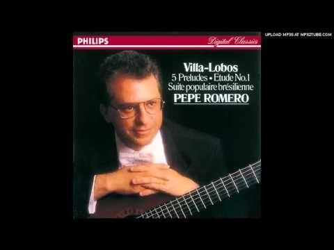 Prelude No. 3 - Villa Lobos - Pepe Romero