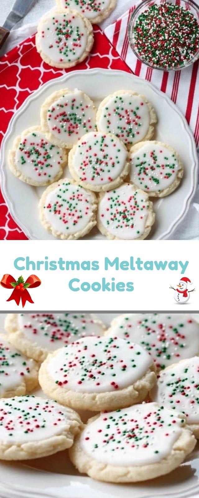 Christmas Meltaway Cookies Christmas Cookie Alana Valeria