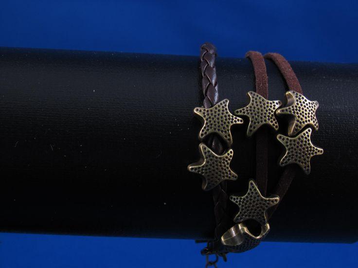 Armband bruin Artikelnummer: 0679 Prijs: € 4,95