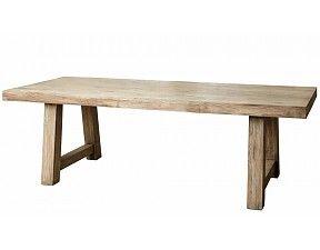 Pomax - Robuuste houten Teaktafel, eettafel