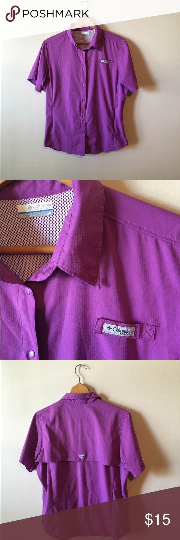 Columbia PFG Shirt Size L. NWOT. Bundle and save 30%. Same/next day shipping. Columbia Tops