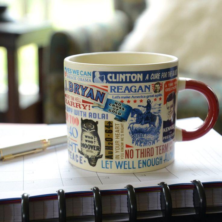 Presidential Slogan 16 Oz. Mug