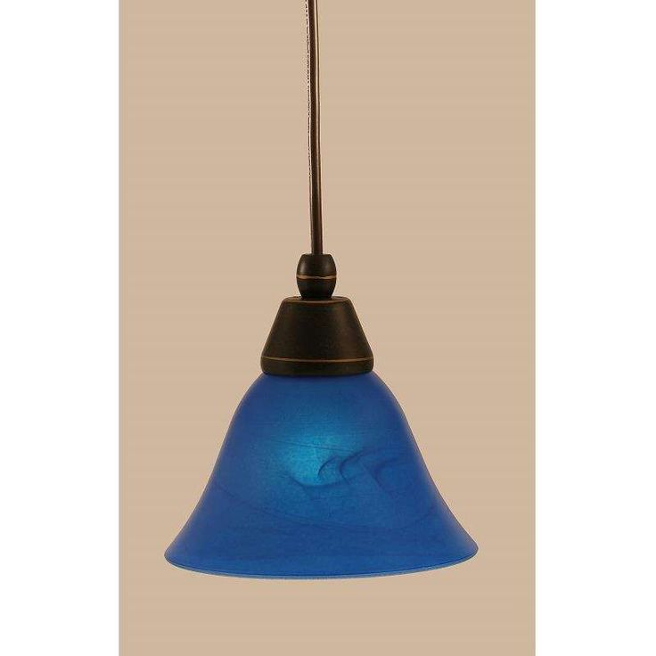 Toltec Lighting 22-DG-4155 Mini Pendant Light Blue Italian Glass In Dark Granite  sc 1 st  Pinterest & Best 25+ Dg light blue ideas on Pinterest | Flower bokeh Light ... azcodes.com