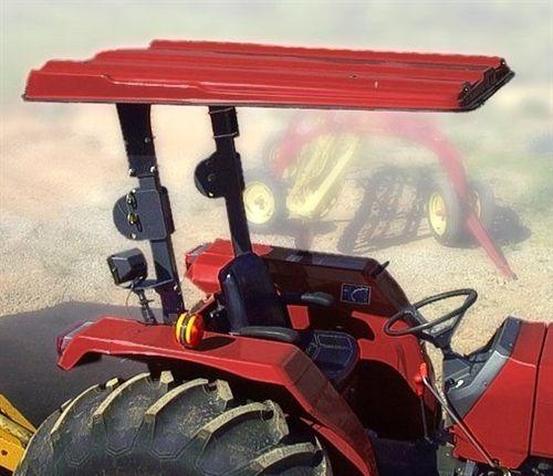 Mahindra Tractor Canopy (model 2415), Mahindra Tractor Canopies, Mahindra Tractor Sunshades, Mahindra tractor roofs, Mahindra Tractor sunshade, Canopies for Mahindra, Sunshades for Mahindra made from fiberglass
