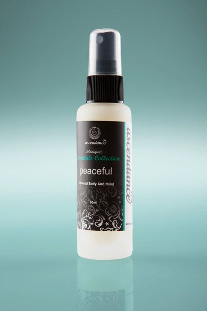 PEACEFUL MIST: Unwind Body. Use for Stress, Overwhelm, Feeling Uptight, Anxious, Worried, On Edge, Cannot Switch Off. by MoniquesCollection, $23.00