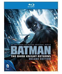 Amazon.com: Batman: The Dark Knight Returns (Deluxe Edition) [Blu-ray]: Jay Oliva: Movies & TV