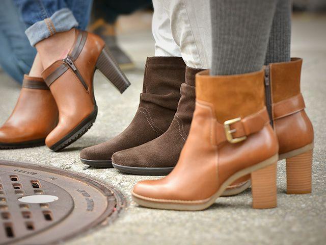 Los botines color tan son muy versátiles que funcionan bien tanto para mujeres de estatura baja como para las altas...