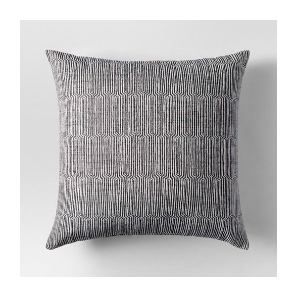 Linework Woven Oversize Throw Pillow - Project 62™ : Target ($20) via Polyvore featuring home, home decor, throw pillows, target throw pillows, target accent pillows, target home decor, woven throw pillows and target toss pillows