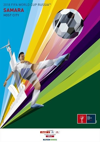 #Russia release promotional poster to publicise Samara city for #WorldCup2018