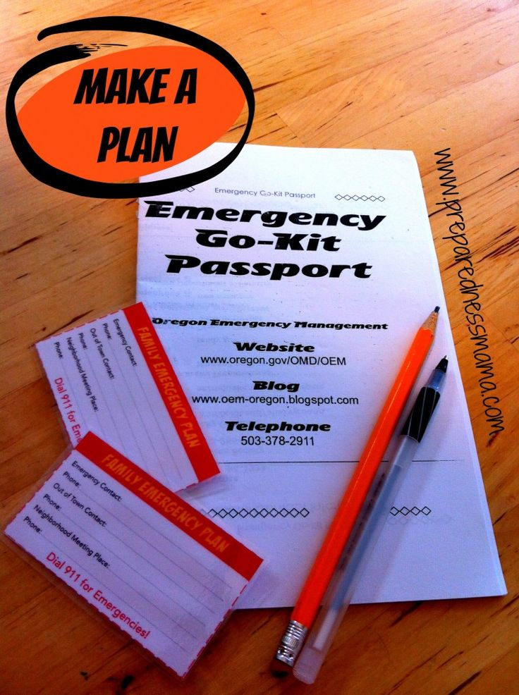 The Family Emergency Plan; here's a great article on how to get started on your emergency prepapration planning!