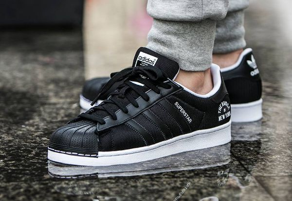 plus de photos 415e3 715a0 adidas superstar new york zebrate