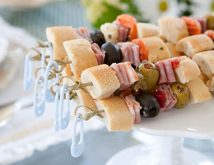 Muffalettas at teatime? Yes, when they're these diminutive Muffaletta Skewers.