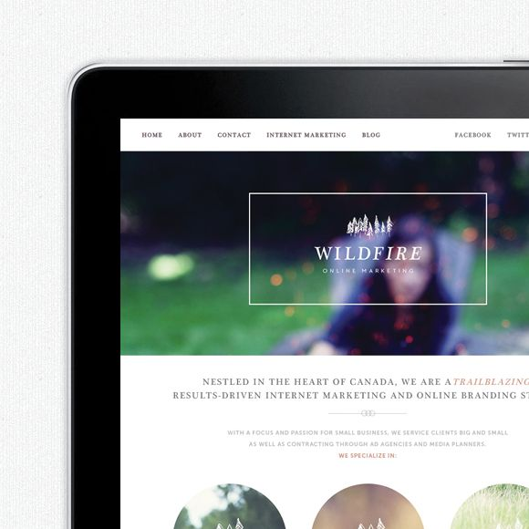 Wildfire Online, Branding - One Plus One Design