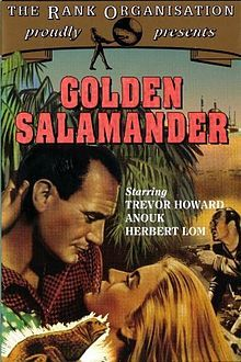 Golden Salamander. UK. Trevor Howard, Anouk Aimee, Herbert Lom. Directed by Ronald Neame. 1950