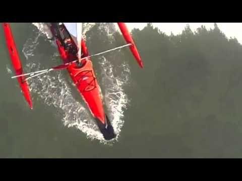 wave deflector for hobie adventure island - YouTube