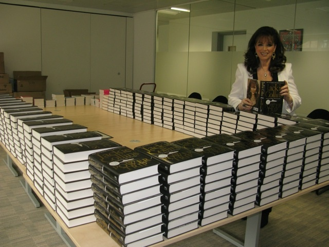Signing a few books!