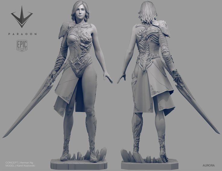 Epic Games Paragon Hero: Aurora by Kozlowski   Fantasy ...