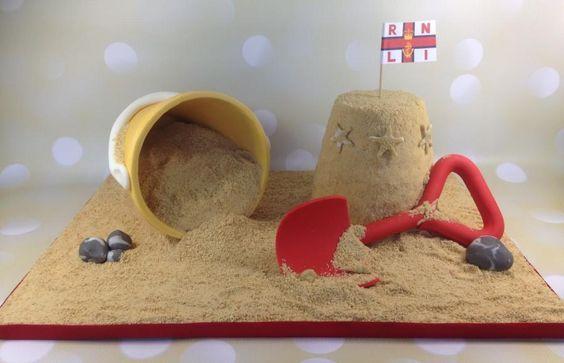 RNLI sandcastle by Great Little Bakes