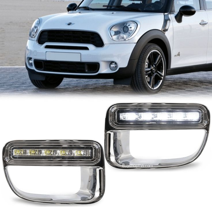 2012 Mini Cooper Country Man Bumper LED Daytime Running Lights DRL #AM