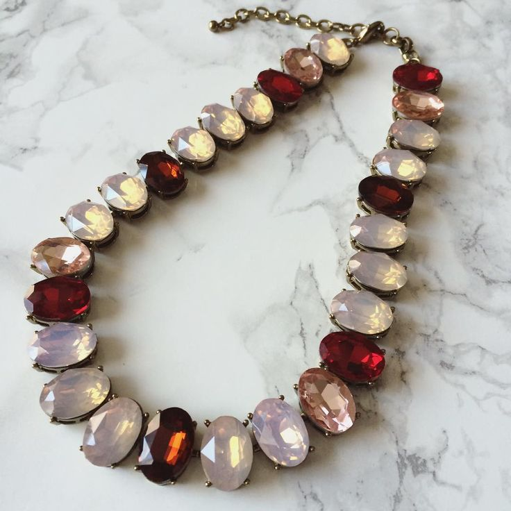 There's just something so special about the Ruby Woo necklace