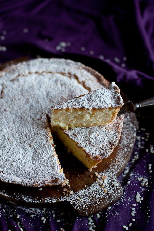 Torta Di Riso (Tuscan Rice Cake)