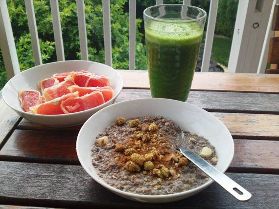 """""""This recipe is great as a breakfast drink and is a quick and easy replacement for a green juice – plus you get the benefit of the fibre as well!"""" …Read about Chantal Deacon Daniel's favourite recipe of the Month!  http://www.naturallynourished.co.za/natural-blog"""