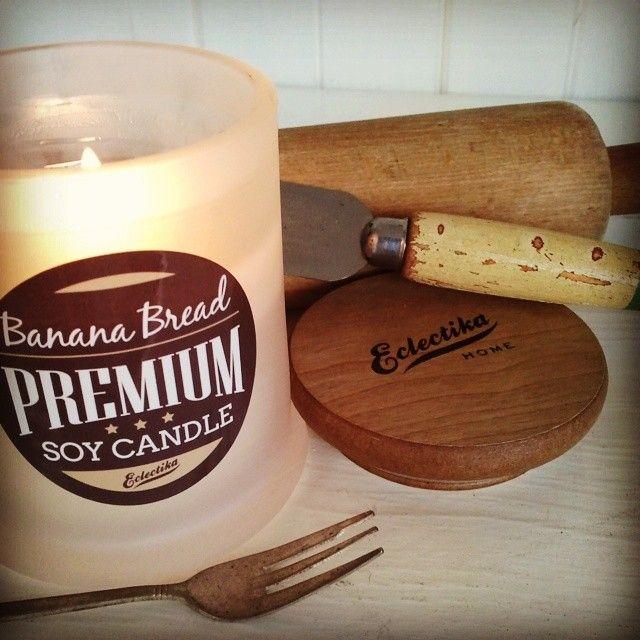 Banana Bread candle ♥