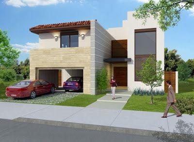fachadas de casas modernas linda fachada de casa moderna en hermosillo