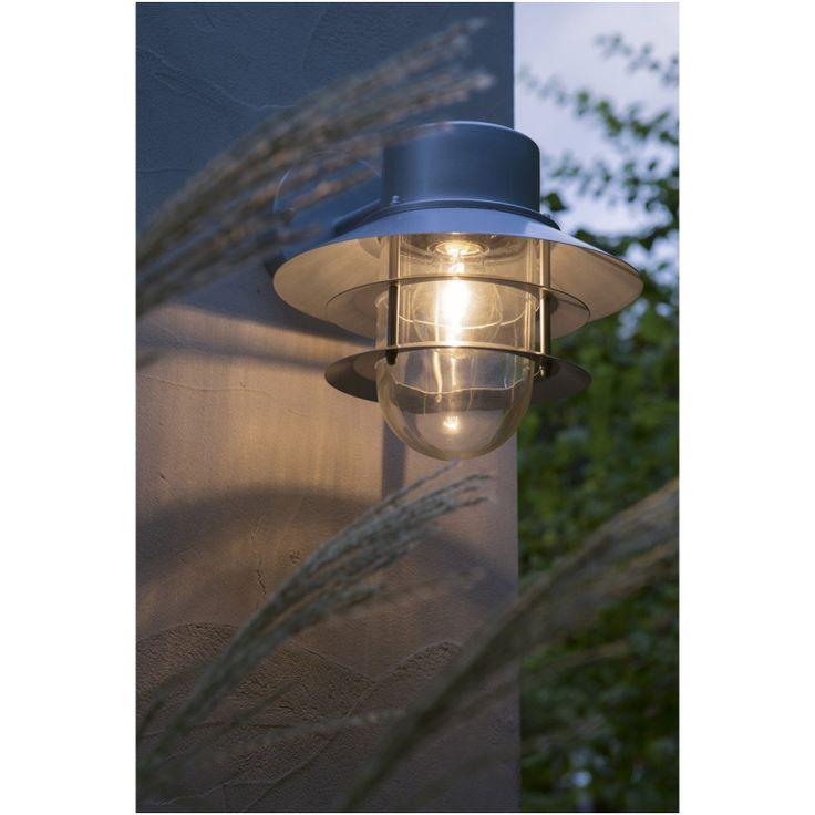 Applique Exterieure Led Integree 1500 Lm Gris Pando Xl Inspire En 2020 Eclairage Exterieur Plafonnier Exterieur Et Eclairage Terrasse