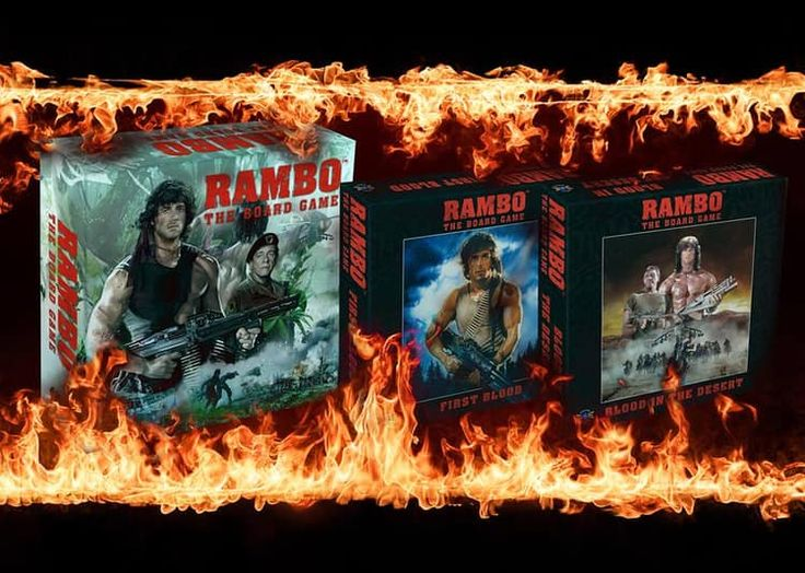 You've seen the movies, now it's YOUR turn to be the Hero, in Rambo: the Board Game! Rambo, January 2018