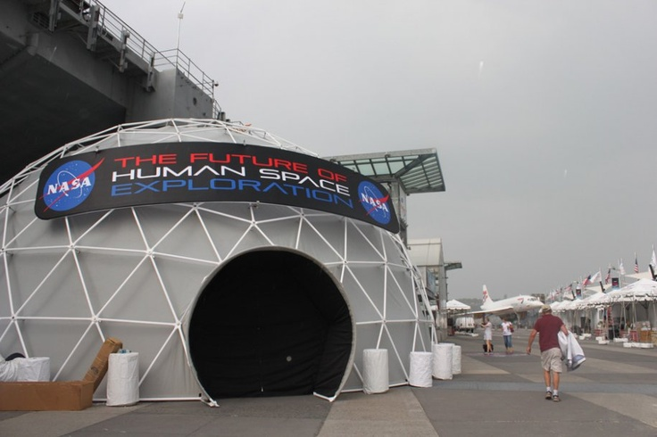 The New Space Shuttle Exhibition