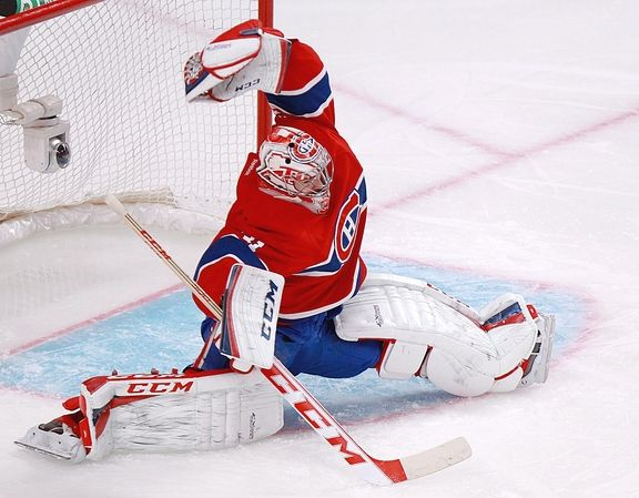 Carey Price glove save for my dear friend Bianca Sommerland
