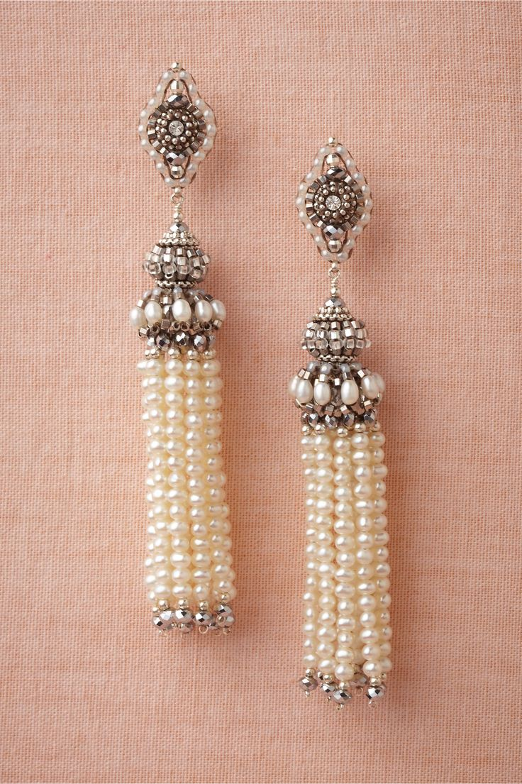 Tassel Earrings in Shoes & Accessories Jewelry at BHLDN