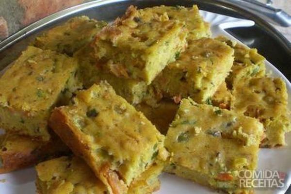 Receita de Torta de sardinha de liquidificador em receitas de tortas salgadas, veja essa e outras receitas aqui!