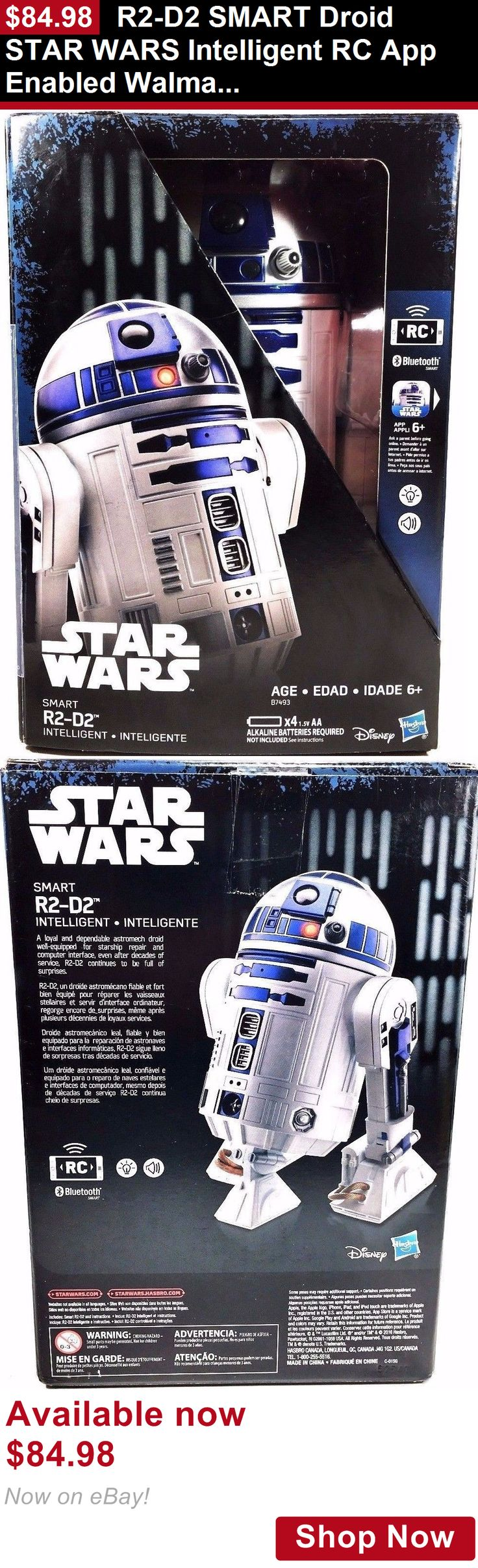 Telescopes: R2-D2 Smart Droid Star Wars Intelligent Rc App Enabled Walmart Exclusive New BUY IT NOW ONLY: $84.98