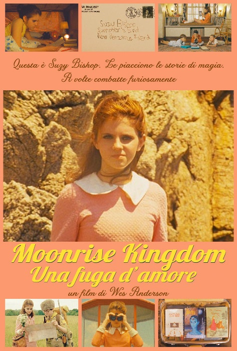 Suzy (l'esordiente Kara Hayward) in Moonrise Kingdom di Wes Anderson