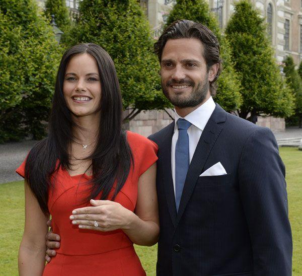 Carlos Felipe de Suecia y Sofia Hellqvist #realeza #royalty