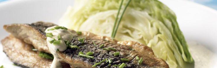 Stekt makrell med sommerkål