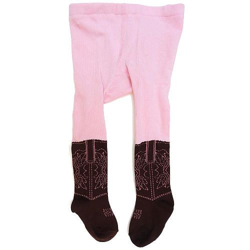 Babies R Us Girls Cowboy Boot Fashion Tights Infant