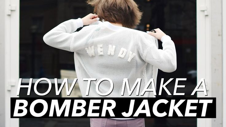 How to Make a Bomber Jacket