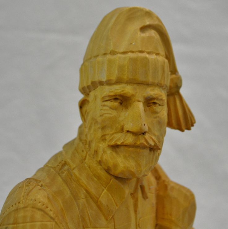 Lumberjack by Robert Roy Quebecois Folk Art Collection