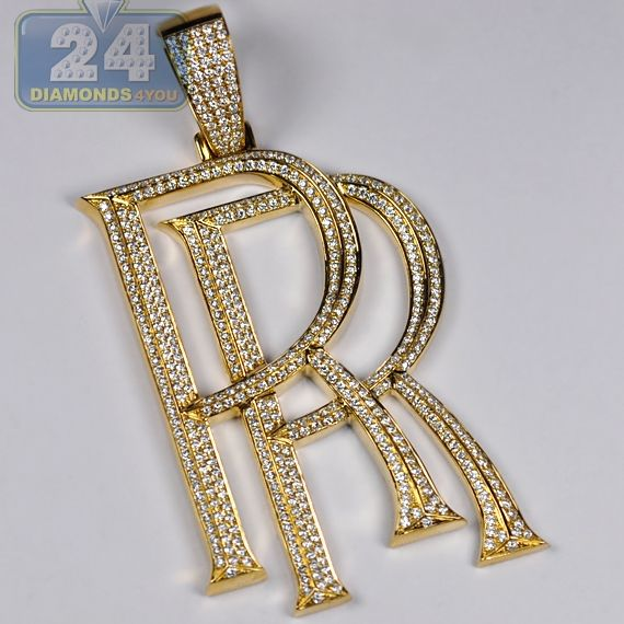 214 best pendants for men images on pinterest pendants for men 10k yellow gold 566 ct diamond rolls royce sign pendant mozeypictures Choice Image