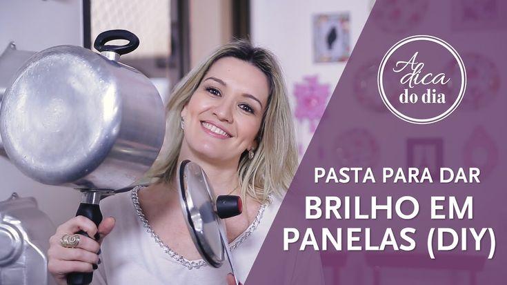 PASTA PARA DAR BRILHO EM PANELA (DIY) | A DICA DO DIA COM FLÁVIA FERRARI