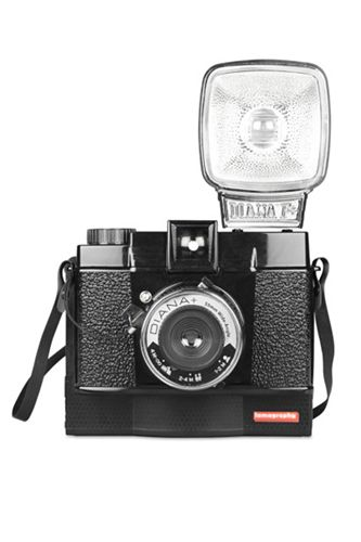 The Raddest Techie Gift Guide EVER #refinery29 Diana F+ Instant Camera, $139, available at Lomography.