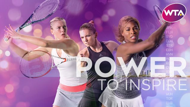 The WTA's top stars, as well as WTA Rising Stars, feature in the new Power To Inspire campaign.