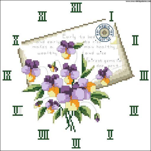 Flower clock 4297 chart