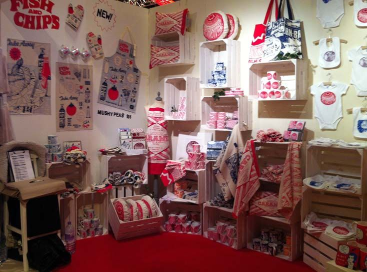 Gillian Kyle stall at the Country Living Christmas Fair
