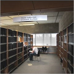 WIT Libraries thesis collection is housed in the Luke Wadding library.