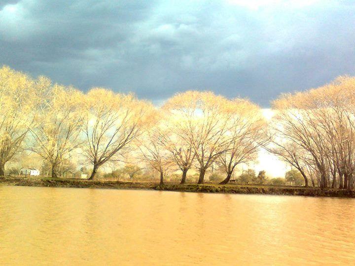 Mariano Sosa: hola amigos! me presento con esta foto del Río Paranacito (que cruza por mi casa). esta foto la saque un día de tormenta justo cuando salia el sol.